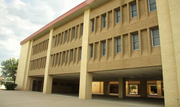 Between 600 and 1,200 unaccompanied children, mostly from Central America, will be housed in this building at Fort Sill. The building, built in 1986, has 20 sleeping bays that hold 60 beds each. The building was last occupied by soldiers in April. Photo provided by Fort Sill Public Affairs   PROVIDED