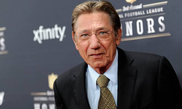 Former NFL player Joe Namath arrives at the third annual NFL Honors at Radio City Music Hall on Saturday, Feb. 1, 2014, in New York. (Photo by Evan Agostini/Invision for NFL/AP Images)