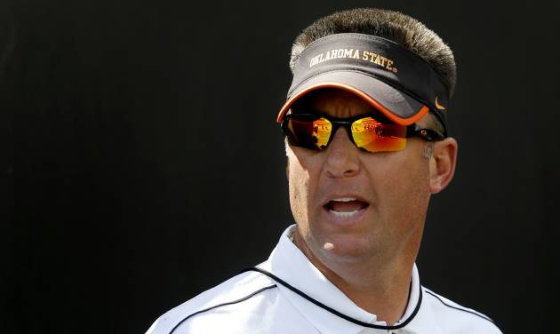 OSU coach Mike Gundy. Photo by Bryan Terry, The Oklahoman