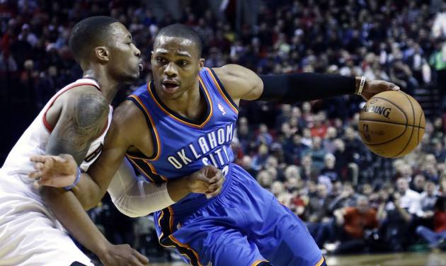 Russell Westbrook is expected to be out until after the All-Star break. (AP Photo/Don Ryan)
