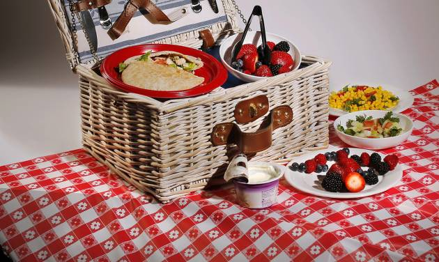 Never keep your picnic basket in the hot car or in the sun. Photo by Jim Beckel, The Oklahoman   Jim Beckel -