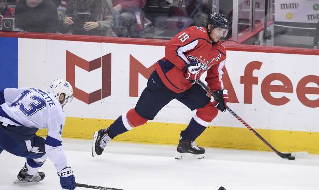 Caps' Backstrom a game-time decision to return from injury