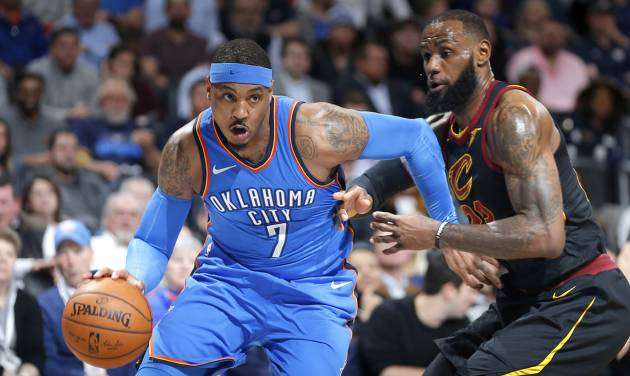 Carmelo Anthony met with Rockets, Heat