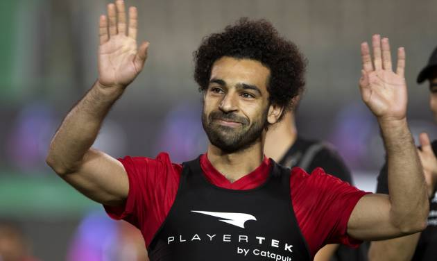 Salah joins Egypt training, but doesn't participate