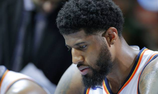 Paul George agrees to four-year $137 million deal with the Thunder