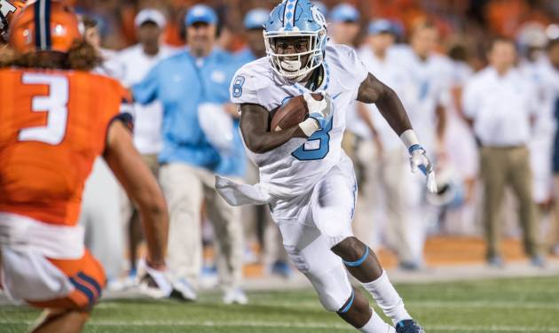 North Carolina wins home opener, beats James Madison 56-28