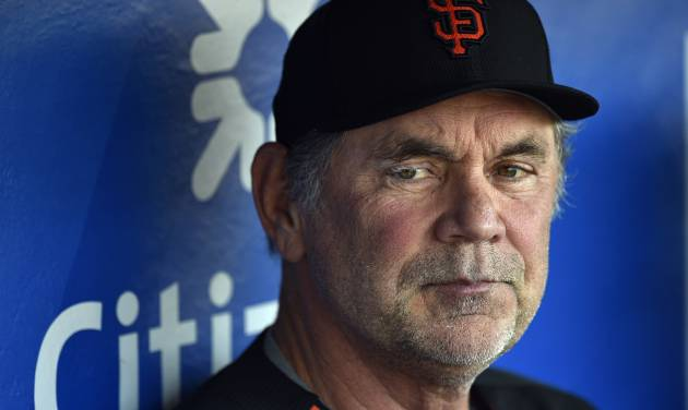 Bochy released from hospital, expected to manage Tuesday