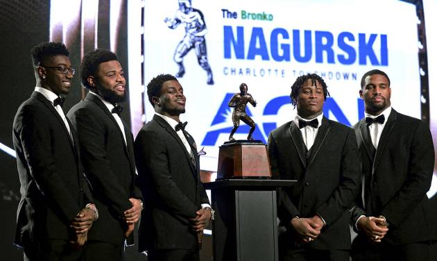 Alabama's Allen wins Nagurski award as top defensive player