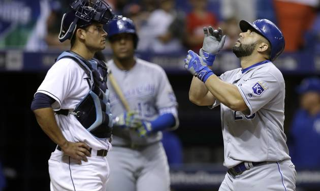 Miller's Late Homer Sinks Royals