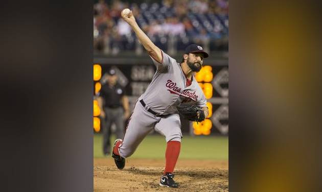 Morgan, Phillies swept by Nationals