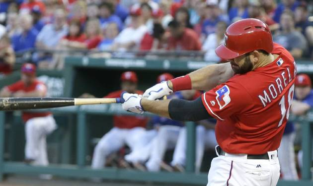 Rangers edge Indians; Stros fall to Rays