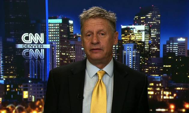 Gary Johnson Stands By Being Skeptical of Elected Officials, Foreign Leaders