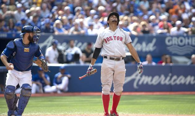 Happ gets 18th win as Jays top Red Sox