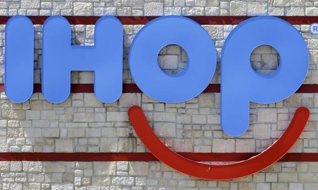 IHOP says 'b' is for burgers, temporarily