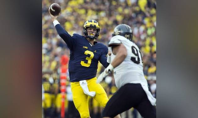 No. 4 Michigan to remain untested against Colorado