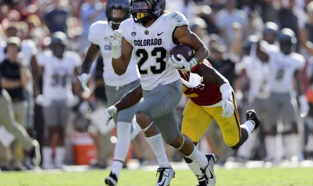 Lindsay leads Colorado past Arizona State 40-16