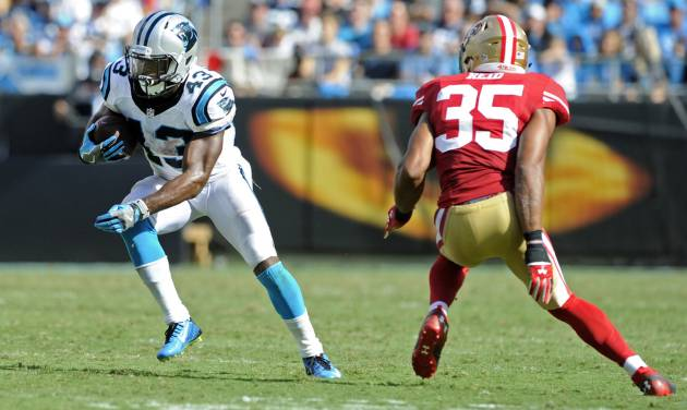 Panthers' Jonathan Stewart ruled out against Vikings. Get ready, Fozzy Whittaker