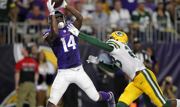 Vikings' Diggs named NFC Offensive Player of the Week