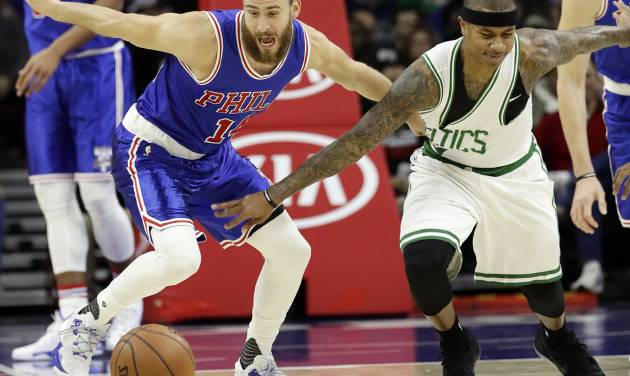 Thomas scores 37 as Celtics nip 76ers