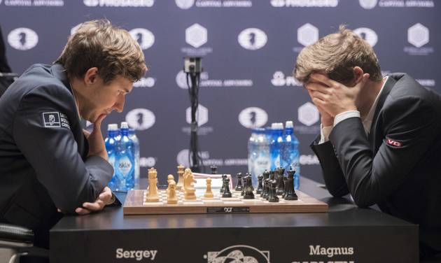 Norwegian Vies With Russian at World Chess Championship