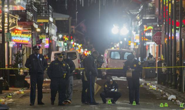 One man dead and nine people injured in New Orleans shooting