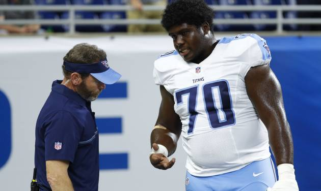 Titans guard Chance Warmack to have surgery on right hand