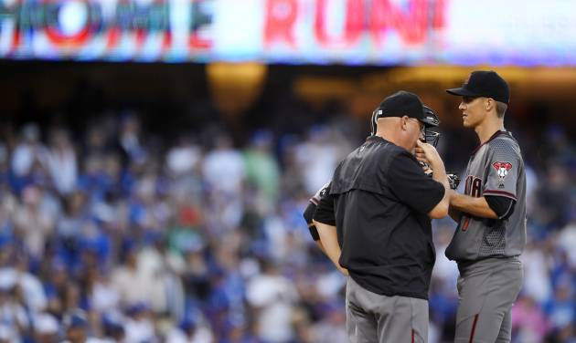 Hammer time: Dodgers hit 5 HRs in 10-2 win over Arizona