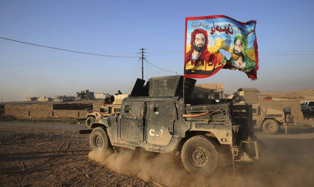 Iraqi troops take 2 neighborhoods in Mosul