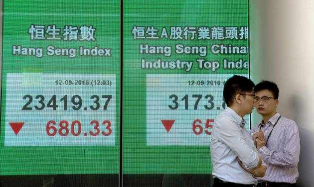 Asian stocks sink after Wall St tumbles on Fed rate jitters