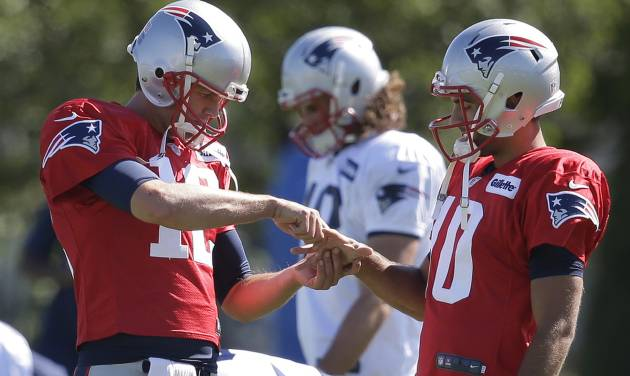 Brady ready after 'silly accident' with scissors cuts thumb