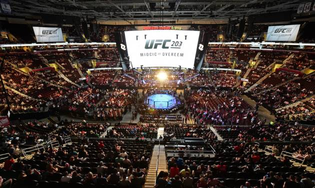 UFC bout canceled after fighter hurt riding hotel elevator