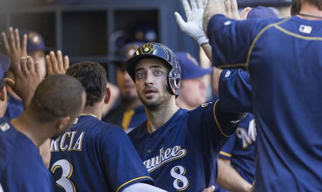 Brewers Win 7-1 Over Rockies