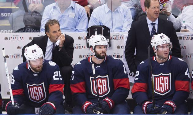 Backes unhappy with Kessel's Tweet after Team USA loss