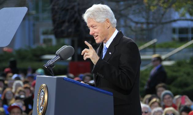 Bill Clinton to give 'very personal' defense of foundation