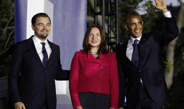 Barack Obama and Leonardo DiCaprio team up against climate change