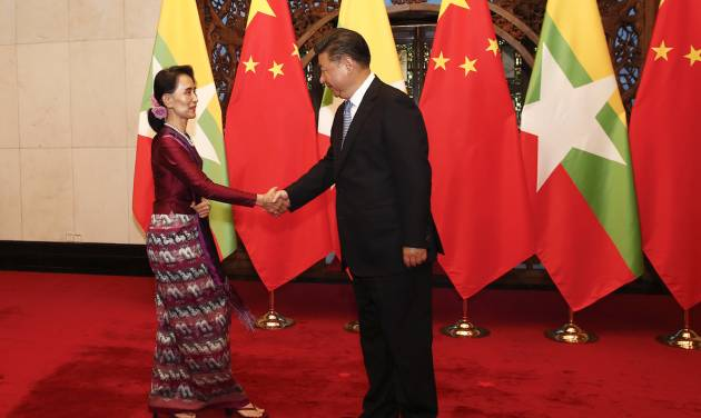 Massive dam project at center of China-Myanmar talks