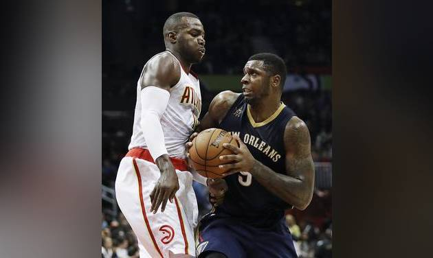 Frazier, Jones help Pelicans beat Hawks