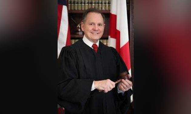 Alabama chief justice is blocked from office for a second time