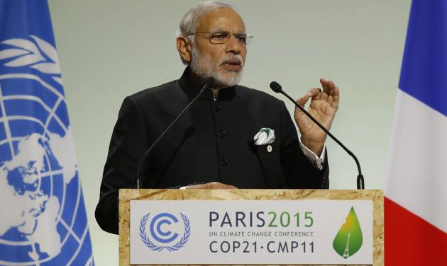 India to ratify CoP21 protocol on combating climate change on October 2