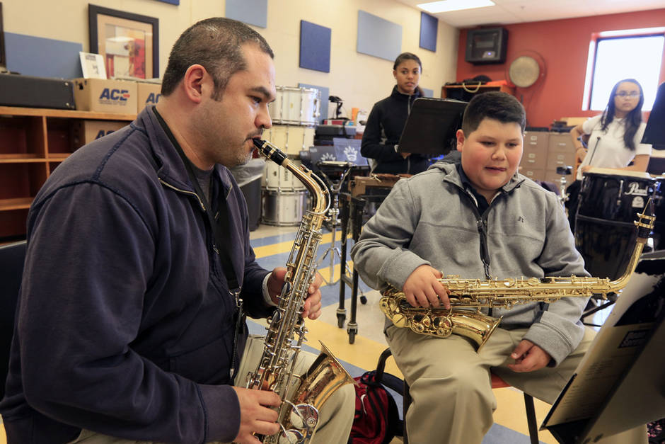 Donation helps give district\'s instruments a tune up