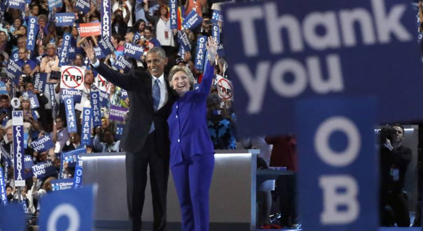 Obama pitches Clinton's qualifications in final convention speech as president
