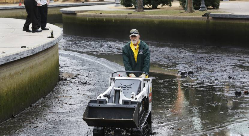 Bricktown Canal drained, cleaned for first time in 5 years