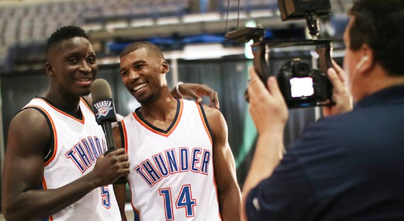 Thunder's charm offensive