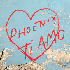 "The ""Ti Amo"" album cover was inspired by romantic graffiti that be found throughout Italy. [Image provided]"
