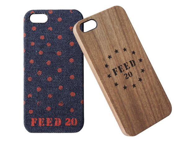 FEED iPhone 5 cases, $25 each, at Target.