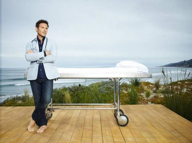 ROYAL PAINS -- Season:3 -- Pictured: Mark Feuerstein as Dr. Hank Lawson -- Photo by: Justin Stephens/USA Network