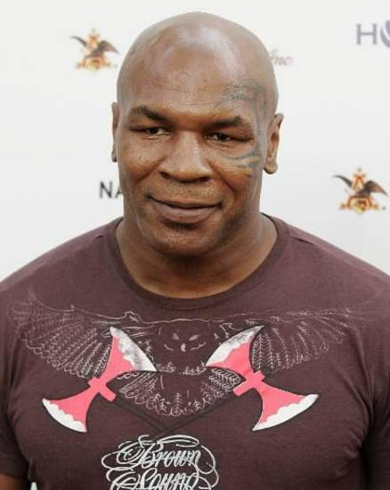 Boxing legend Mike Tyson during a fundraising even in Malibu, California (AP Photo by Dan Steinberg)