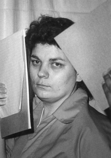 Murder defendant Marilyn Kay Plantz,  file photo taken 10/20/1988, ran 10/21/88