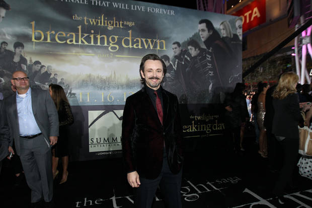 Michael Sheen attends the world premiere of �The Twilight Saga: Breaking Dawn Part II� on Nov. 12 at the Nokia Theatre in Los Angeles.  Photo by Matt Sayles, Invision/AP