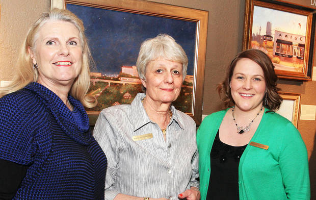 Ginger Myers, Mary Anna Goetz, Laura Howell Tirrell. PHOTOS BY DAVID FAYTINGER, FOR THE OKLAHOMAN